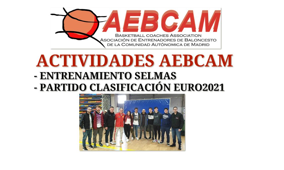 Actividades Aebcam - Selección Española Baloncesto